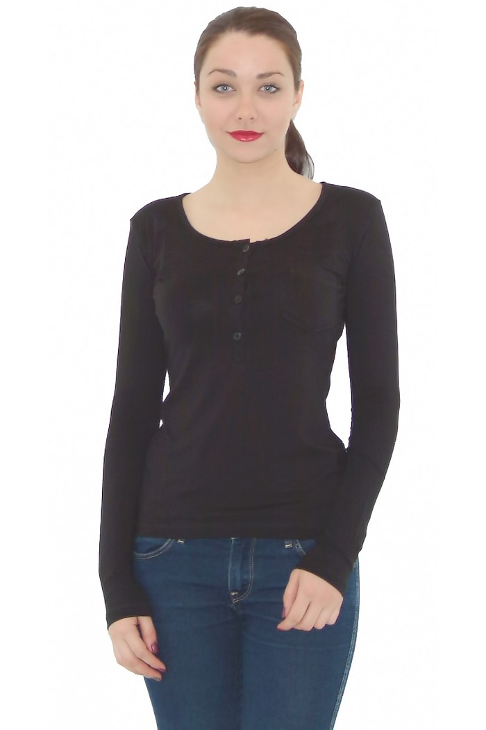 Elida Blouse with a Pocket