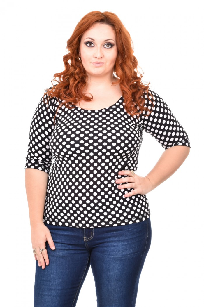 Chloe Blouse with Dots