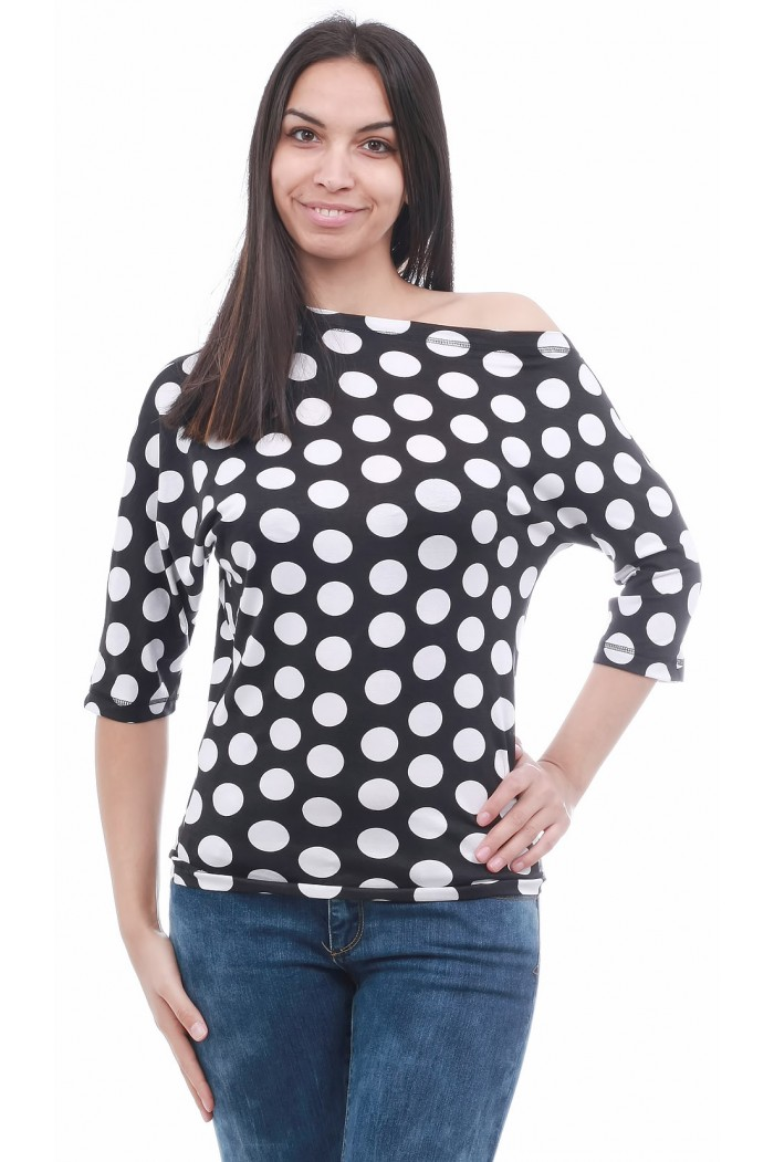 Jarka Dotted Blouse