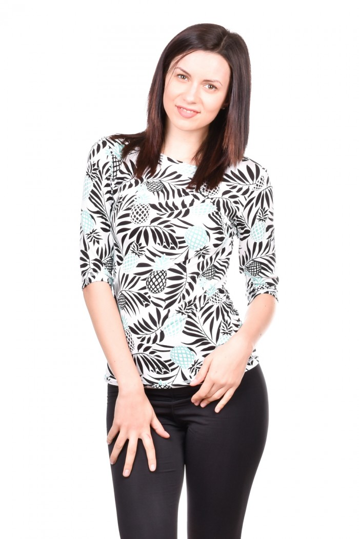 Blouse with 3/4 sleeve Ivalena