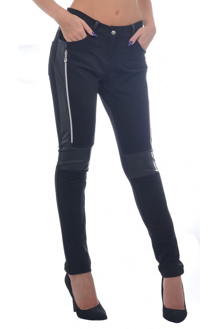 Denelina Black Trousers