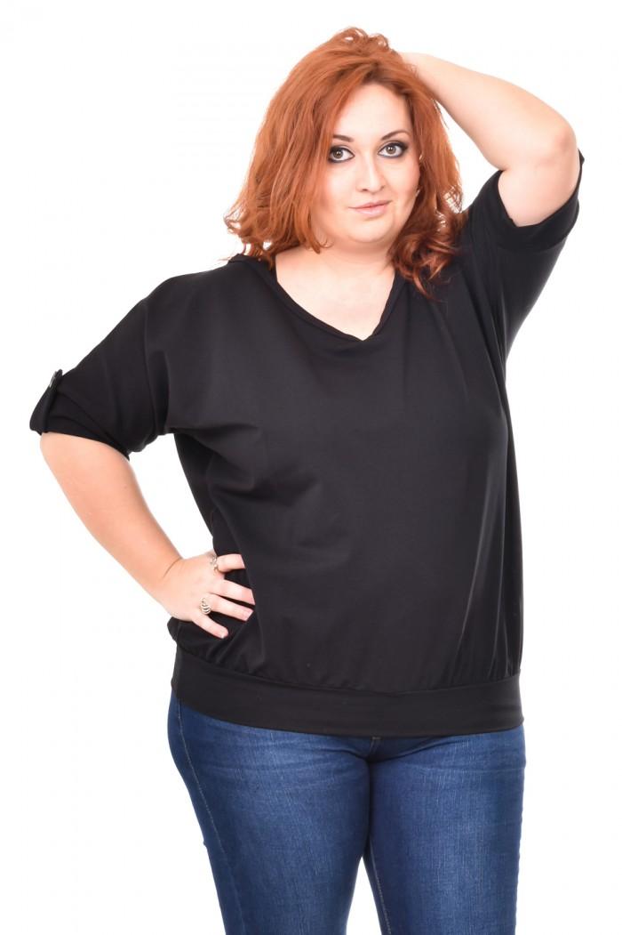 Carrie Black Blouse