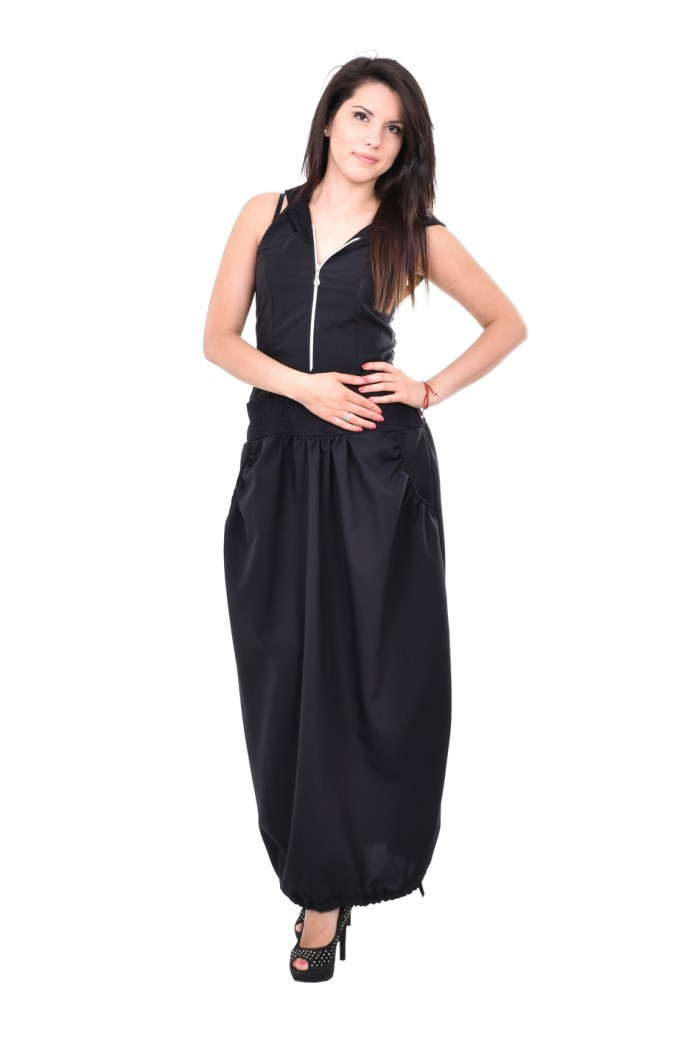 Black long dress Merry