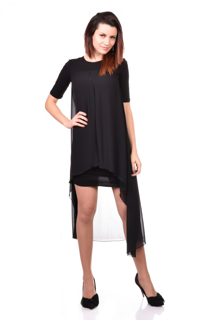Black Women Tunic Cvetomila