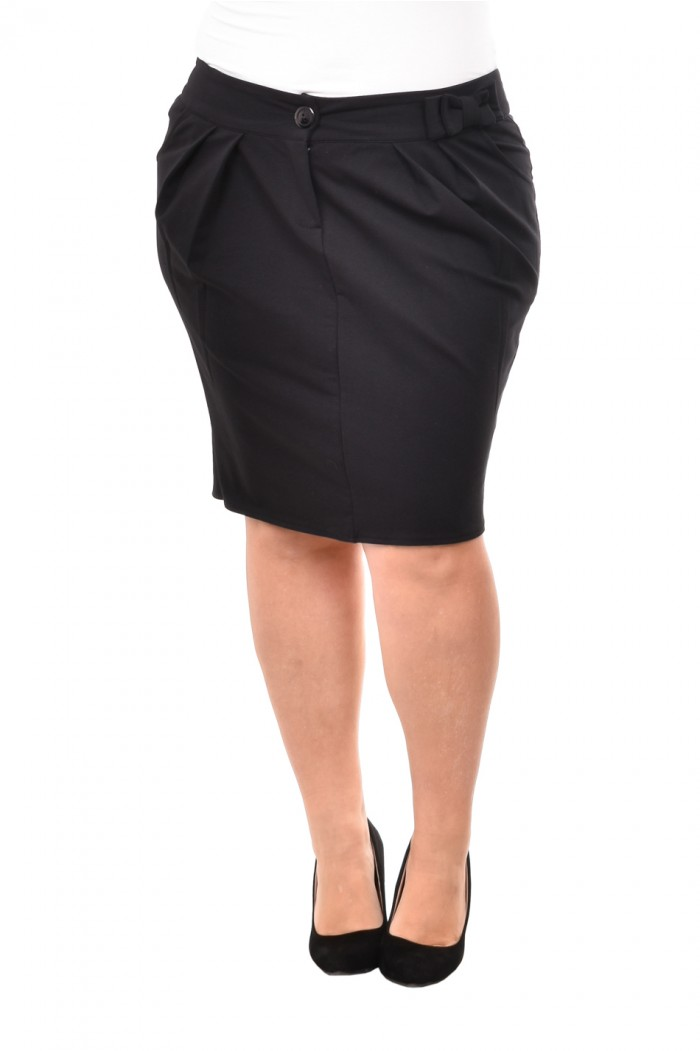 Rozeta Black Skirt
