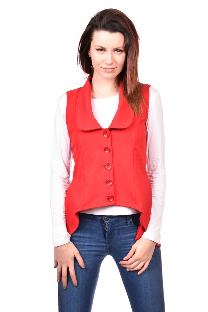 Red Vest Hristomira