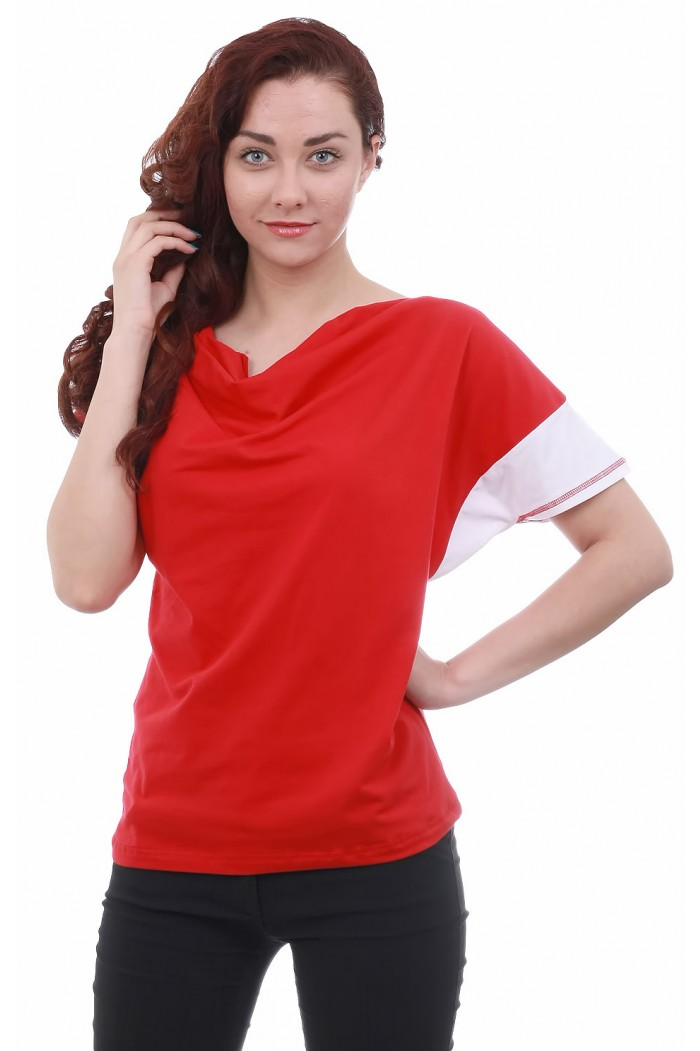 Dessy Red Blouse