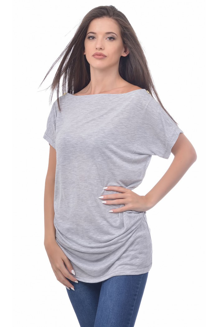 Brianna Blouse with Short Sleeves