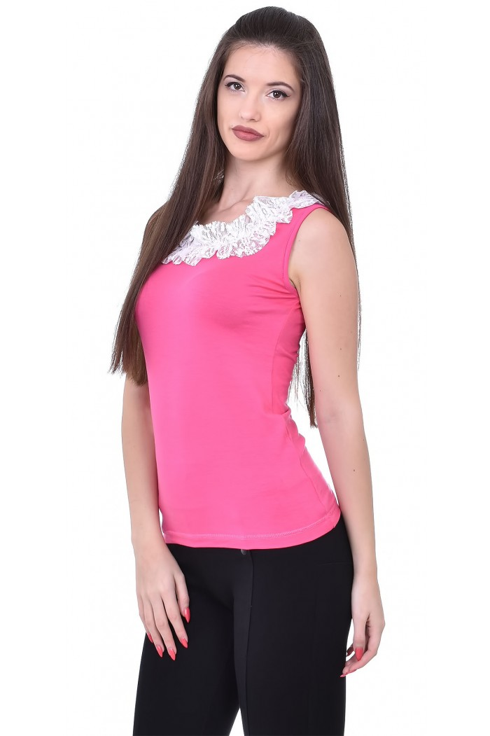 Vida Tank-top with Lace