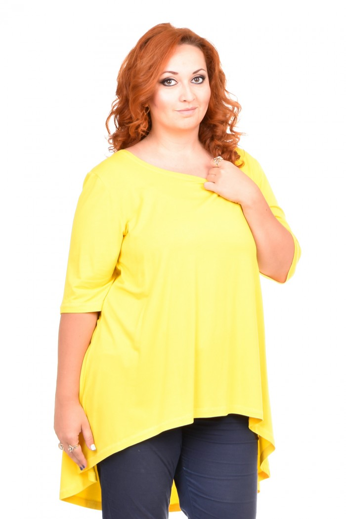 Zlatomira Yellow Tunic