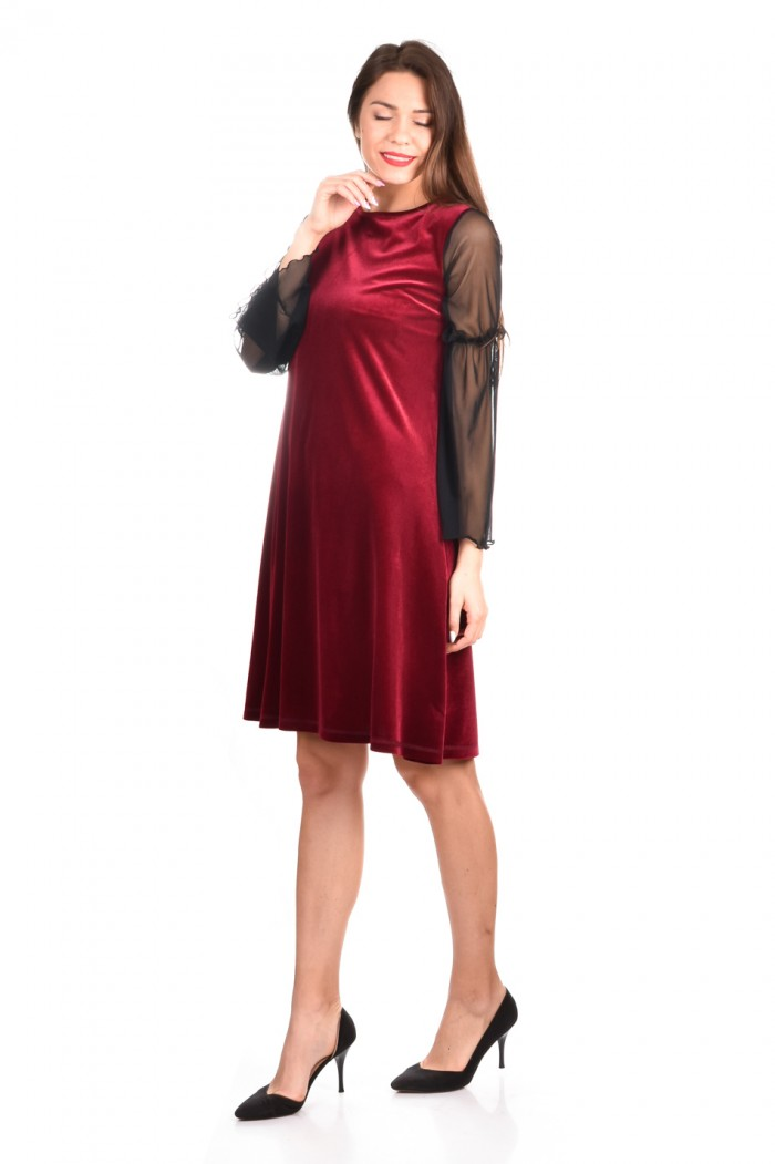 Stunning velvet dress Papena