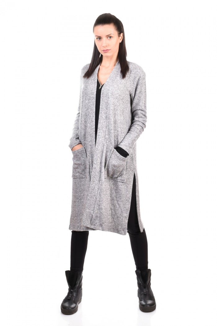 Long cardigan with pockets Dionna