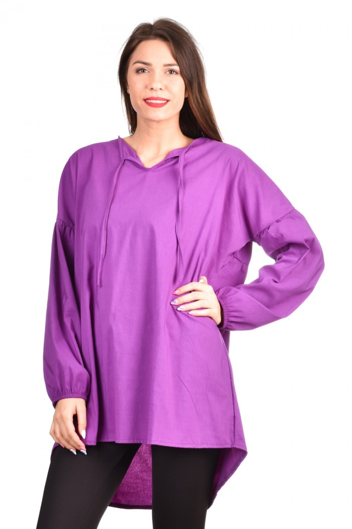 Comfortable cotton tunic Evangelina-Ina