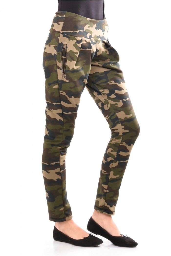 Interesting camouflage trousers Roksena