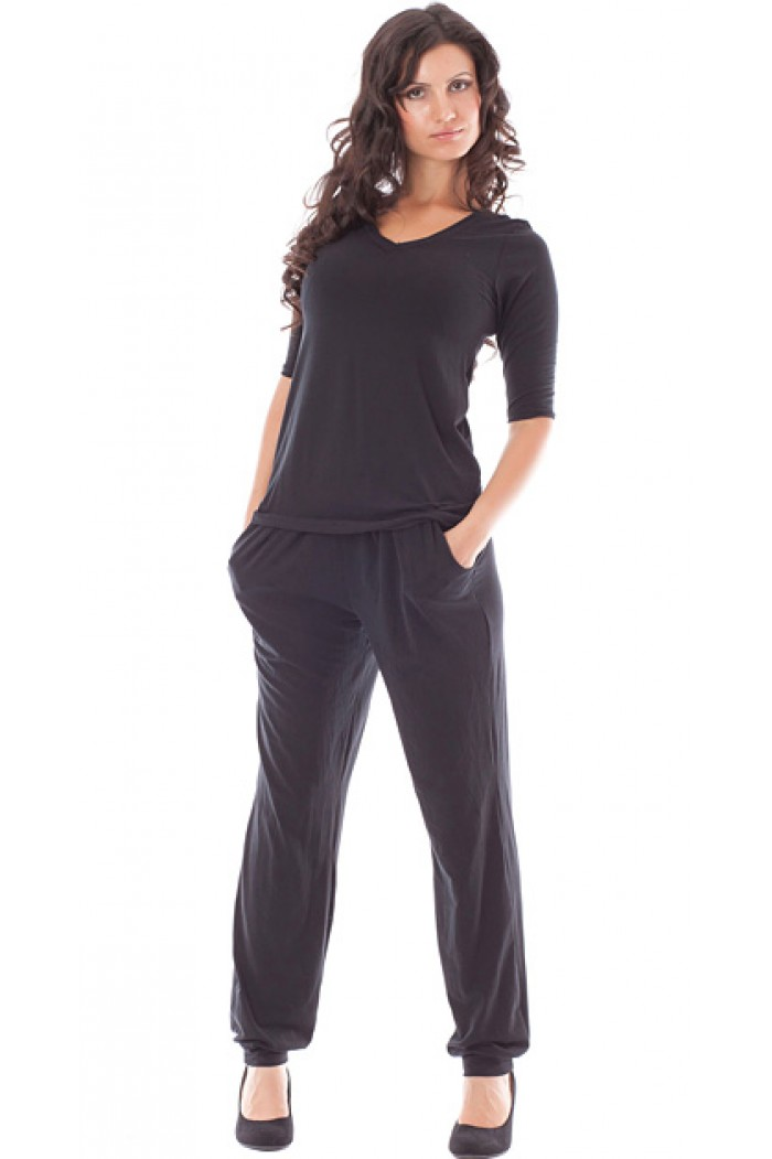 Bianca Set of Blouse and Trousers