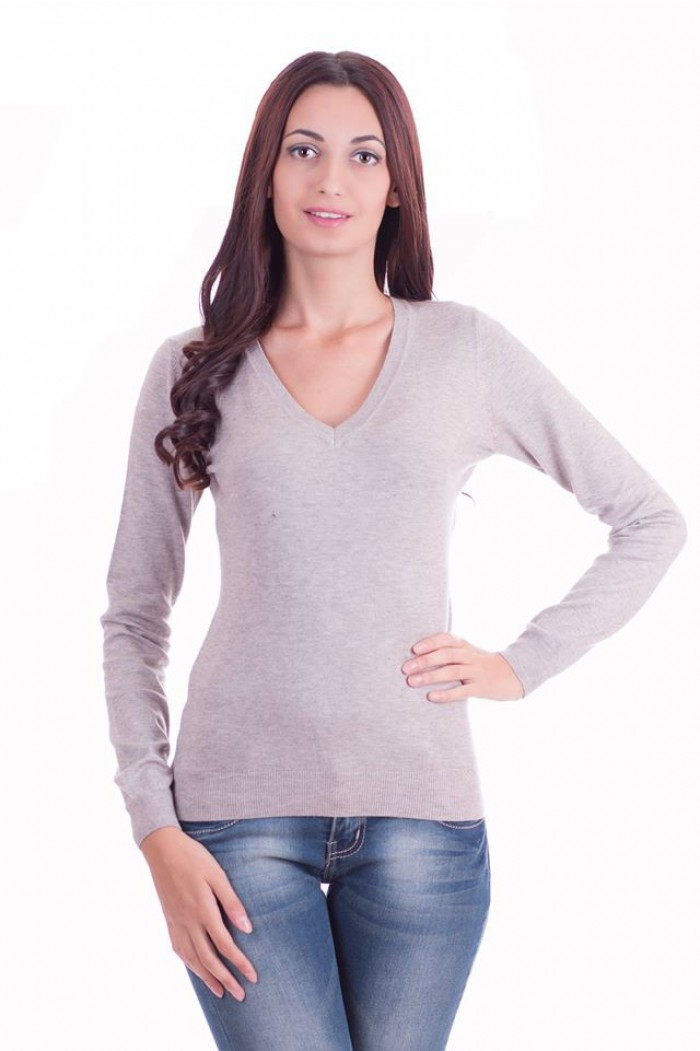 Beige Women Sweater