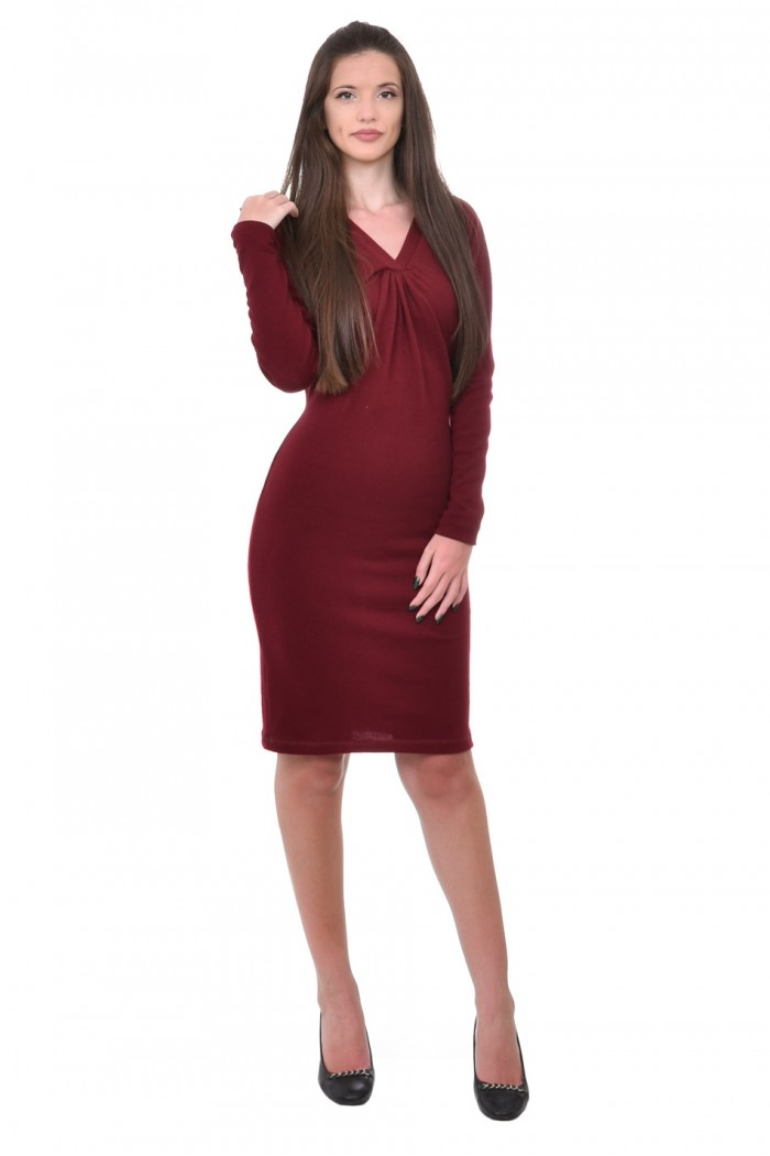 Dayana Dress with Long Sleeves