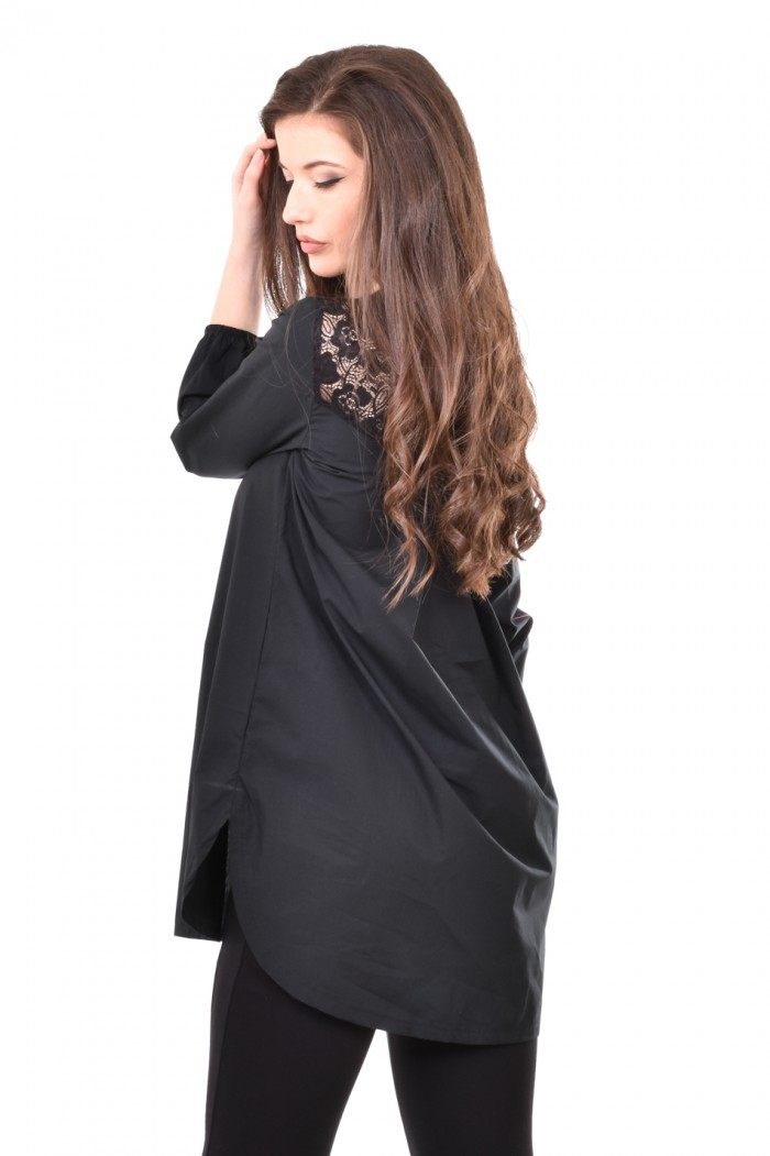 Stylish tunic with lace back Emel