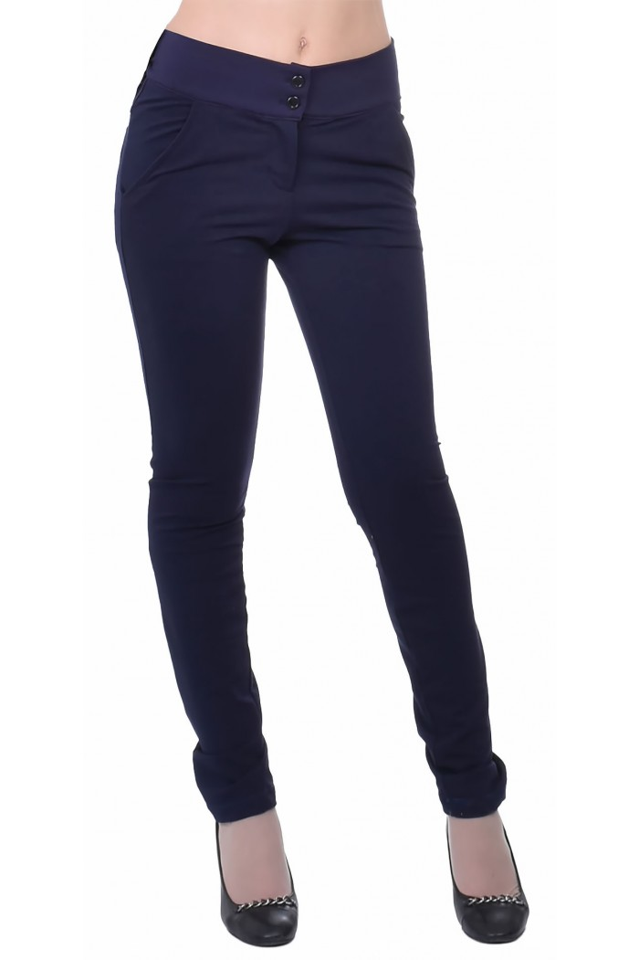 Angela Dark Blue Trousers