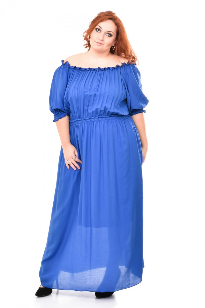 Cvetelina Dark Blue Dress