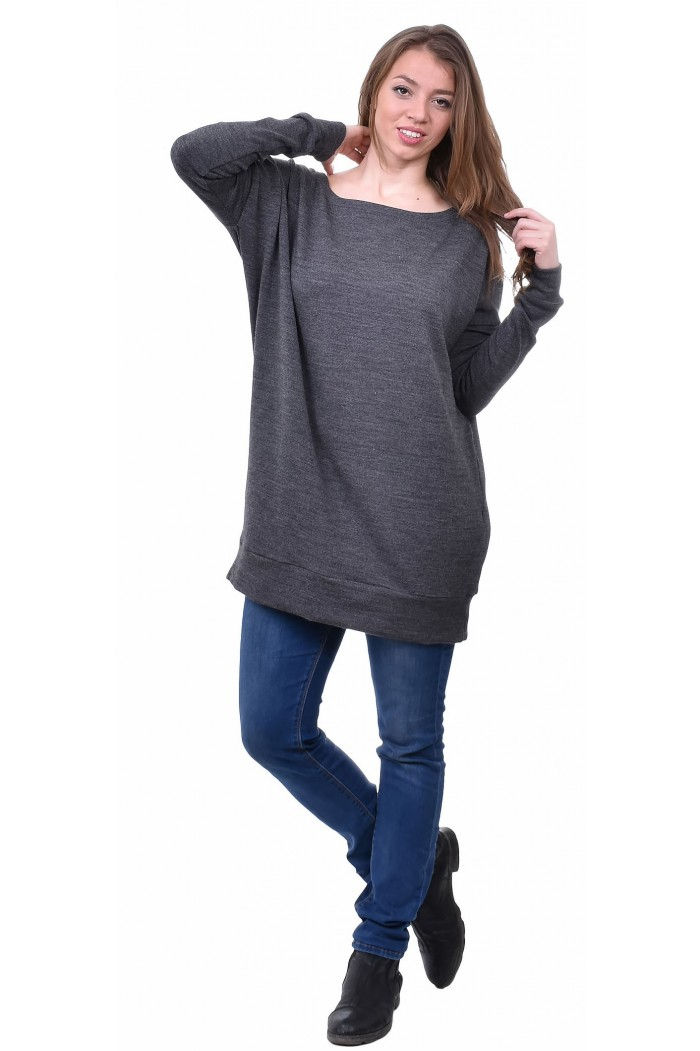 Persa Dark Gray Blouse