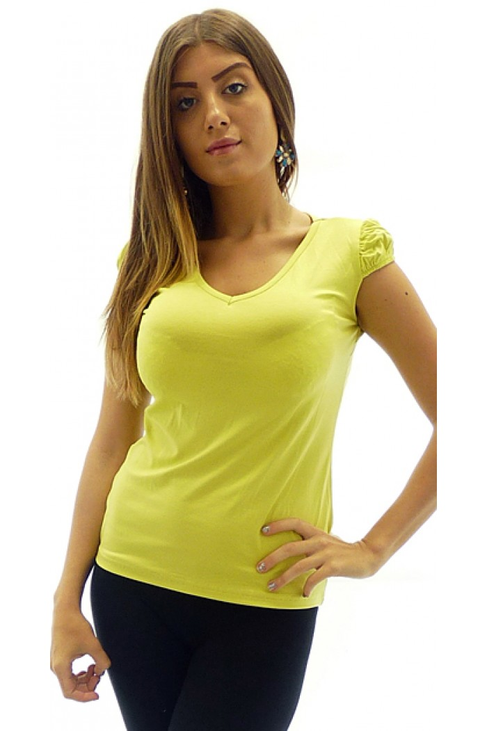 Luciana Yellow Top