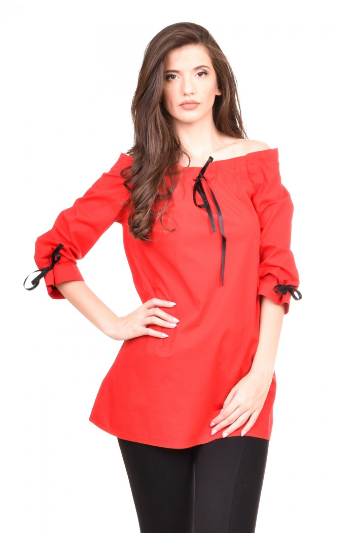 Off the shoulder tunic Darma