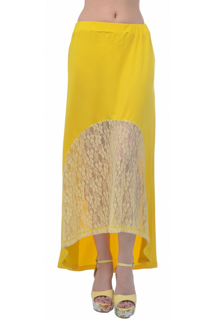 Lucianna Yellow Skirt