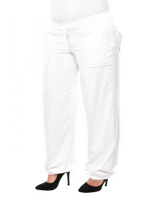 Demetra White Trousers