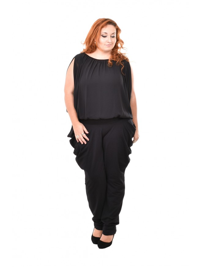 Zeolina Black Jumpsuit