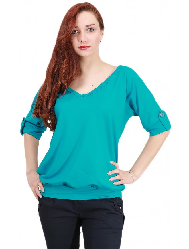 Carrie Bat-type Blouse