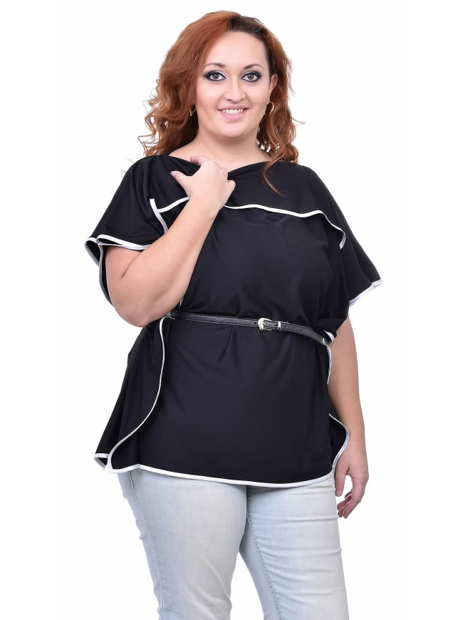 Morein Black Blouse