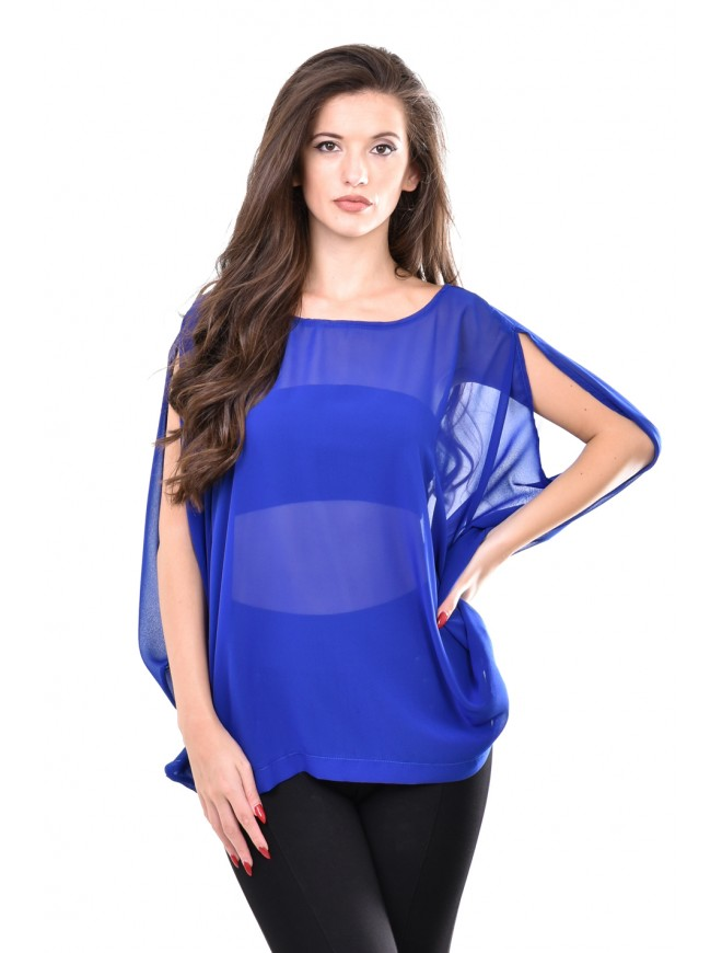 Blue blouse Leftera