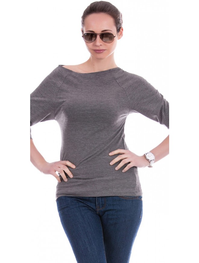 Yanna Dark Gray Blouse