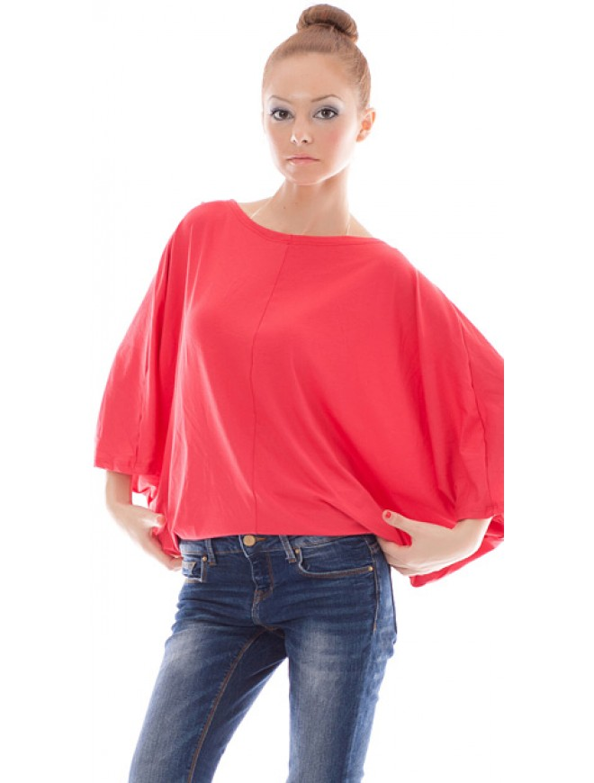 Margaretta Bat-type Blouse