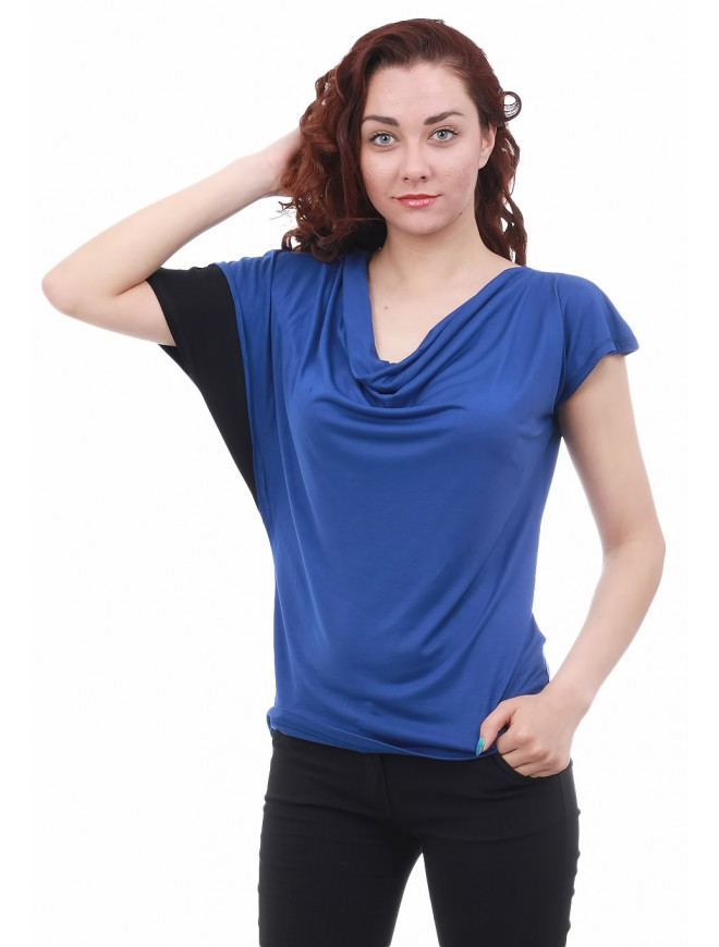 Dessy Blouse with Short Sleeves
