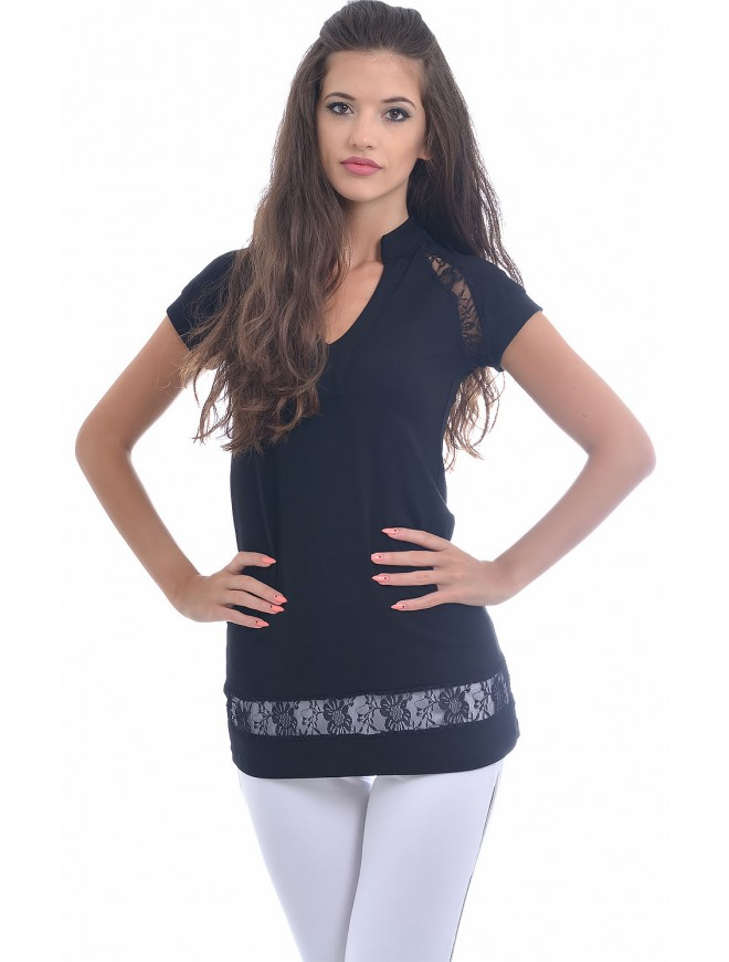 Stoila Blouse with Short Sleeves