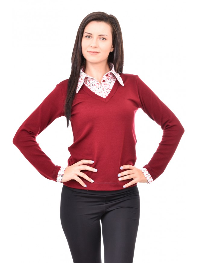 Blouse with a collar Altaya