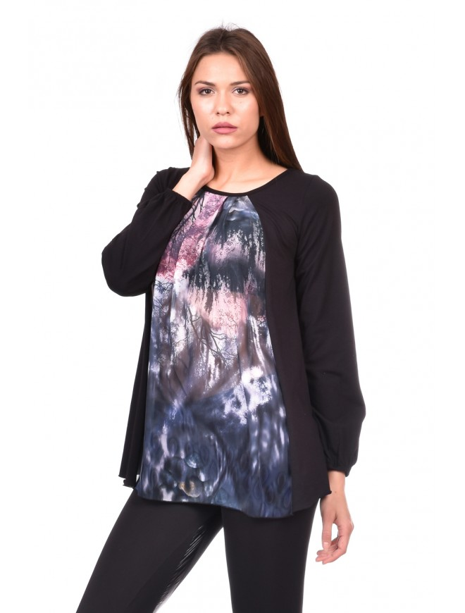 Blouse in black Demna