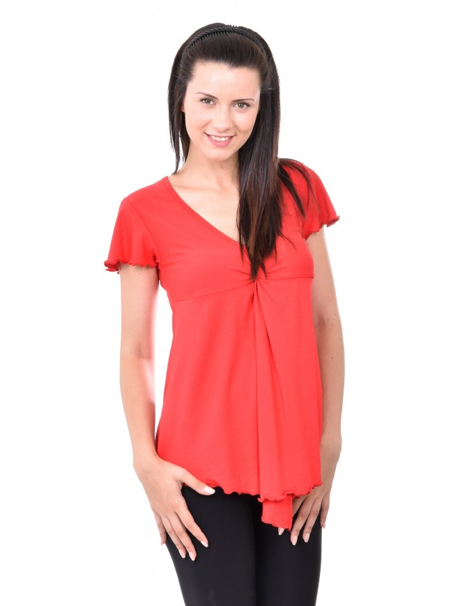 Maya Red Blouse