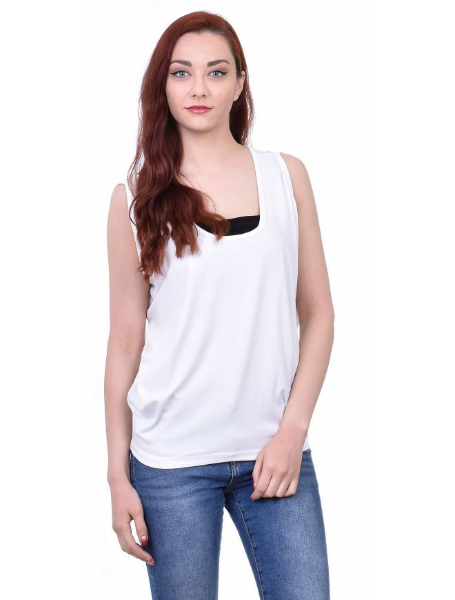 Radozveta White Tank-top