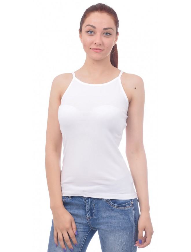 Rozalia White Tank-top