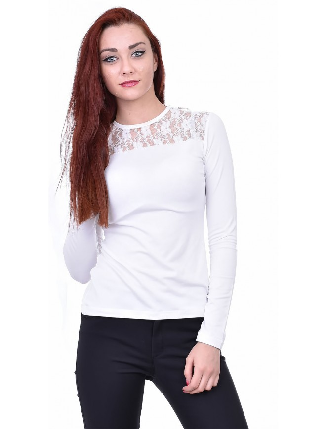 Anislava White Blouse