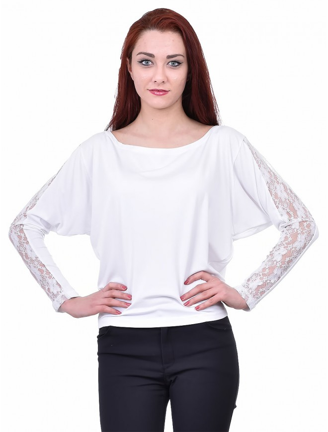 Radka White Blouse