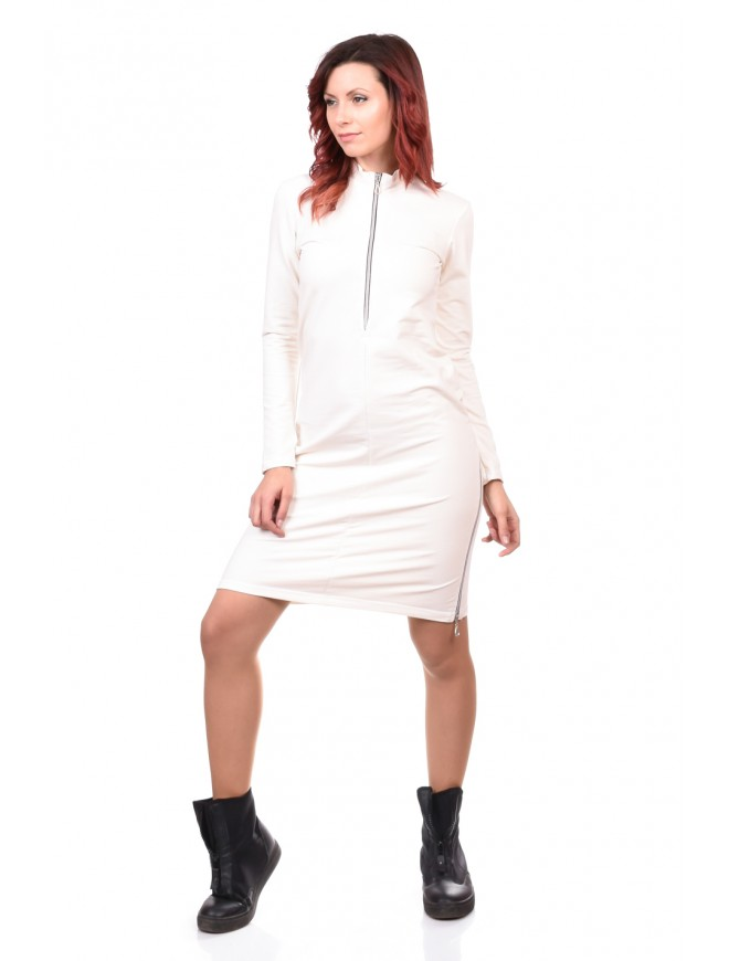 White Tunic-Dress Nadiusha
