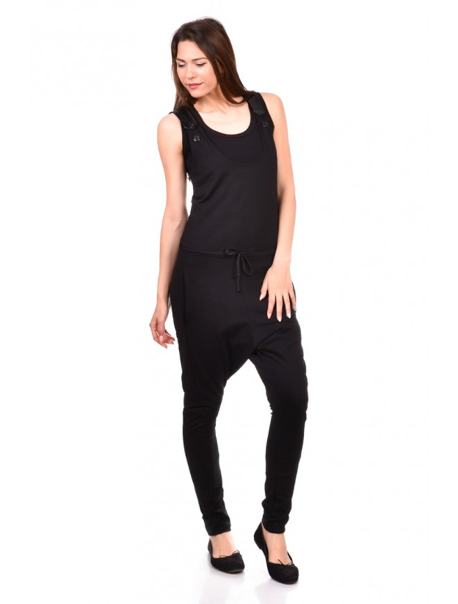 Black Women Jumpsuit Rozalinda