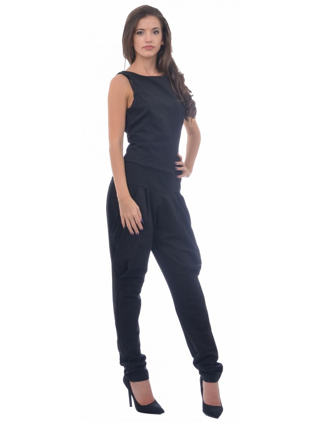 Elina Black Jumpsuit