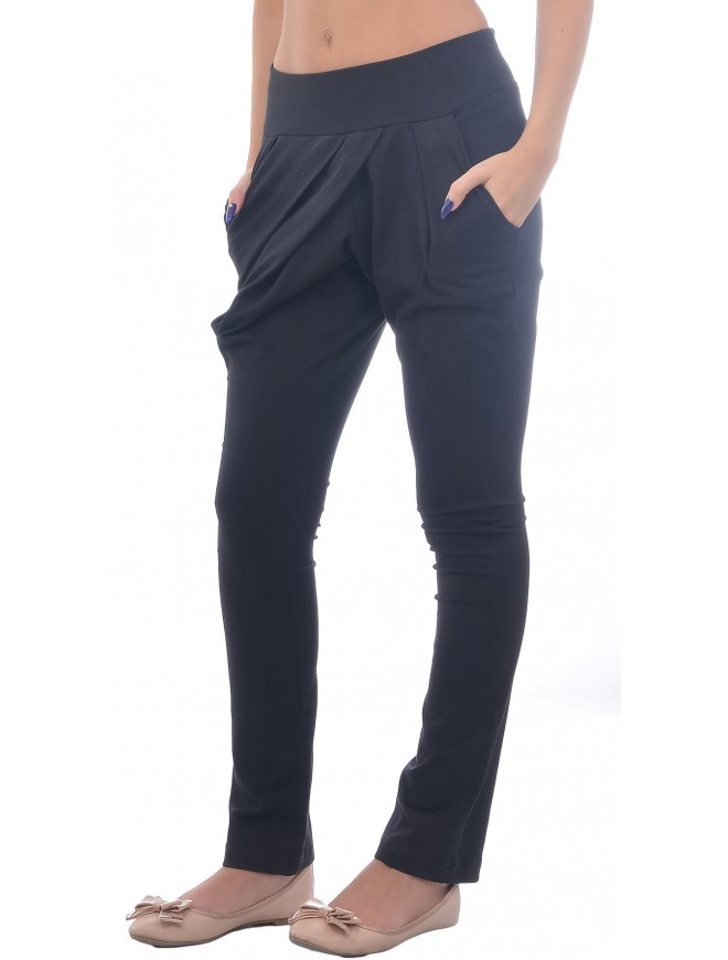 Slavomira Black Trousers