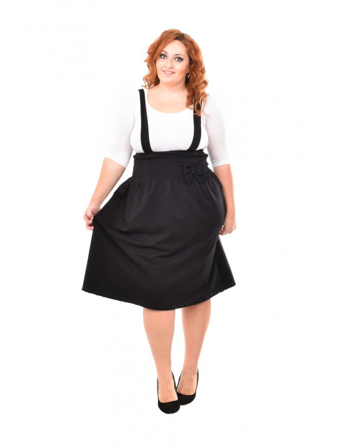 Sevdalena Black Pinafore