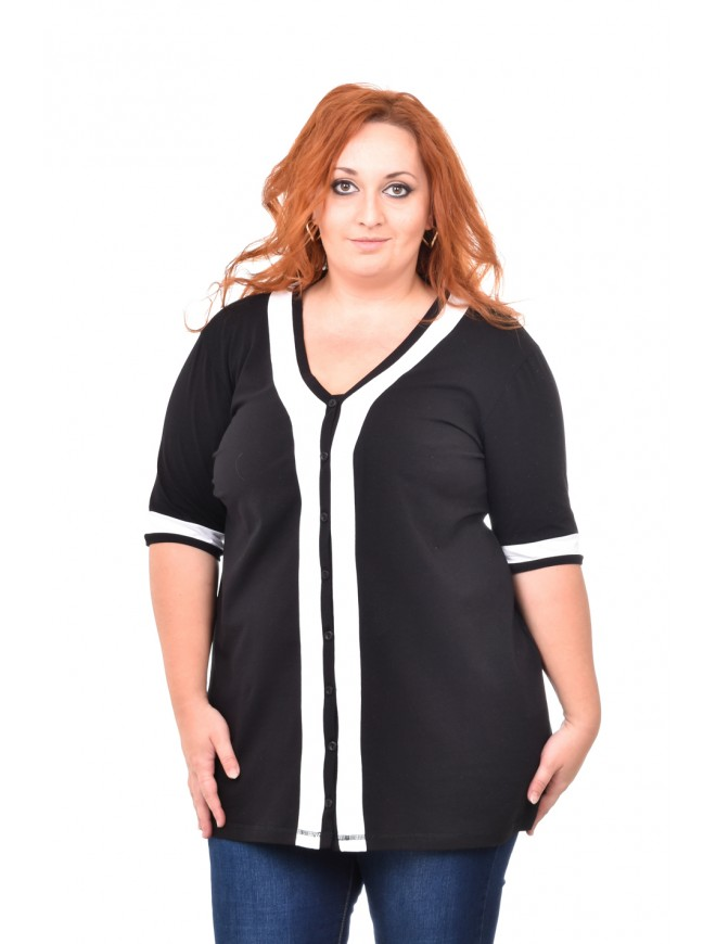 Luciena Black Blouse